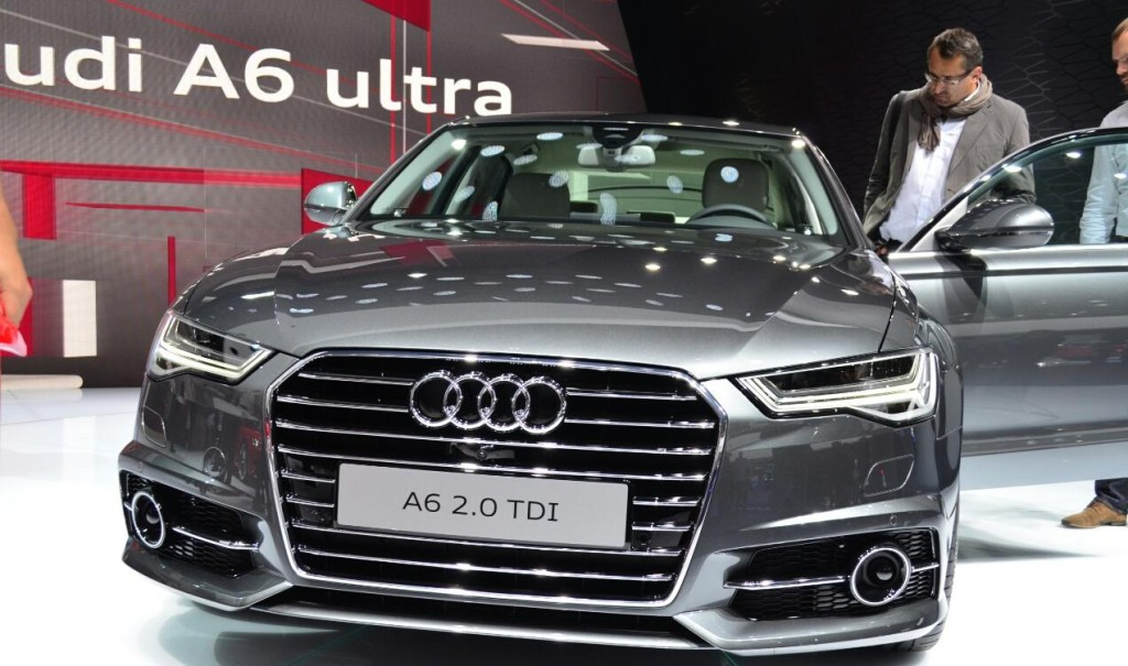 Audi New A6 Model launch