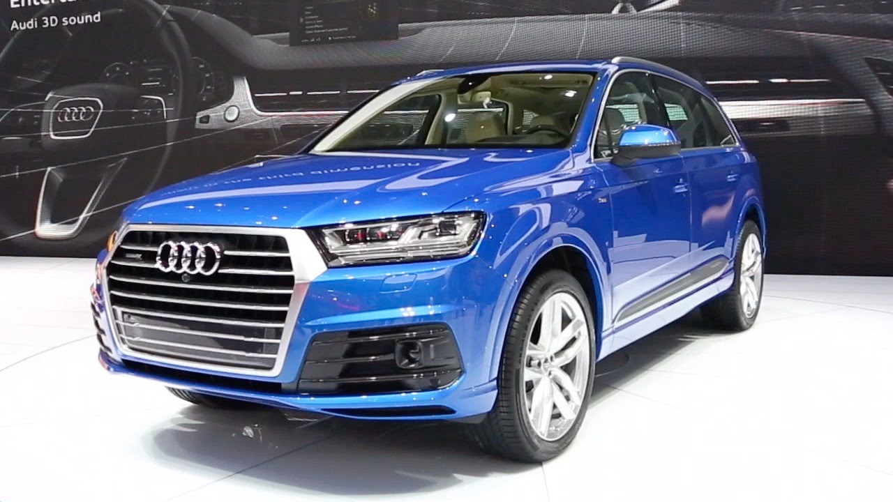 Audi Q7 Launched At The Detroit Auto show 2015