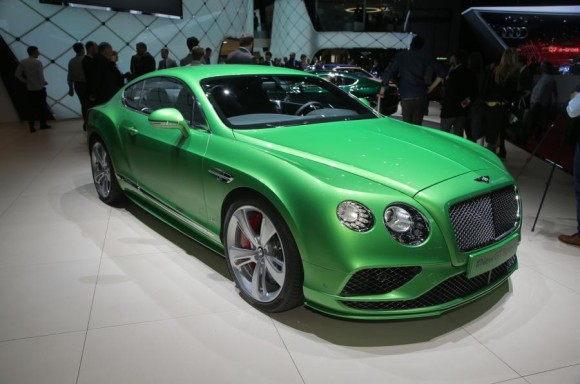 Bentley Continental and Flying Spur facelifts genewa motor show 2015