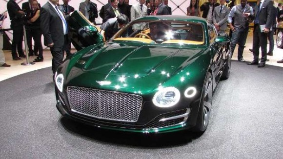 Bentley high performance two seater geneva motor show 2015