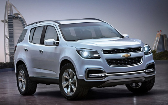 Chevrolet Trailblazer About to launch In India Year 2015