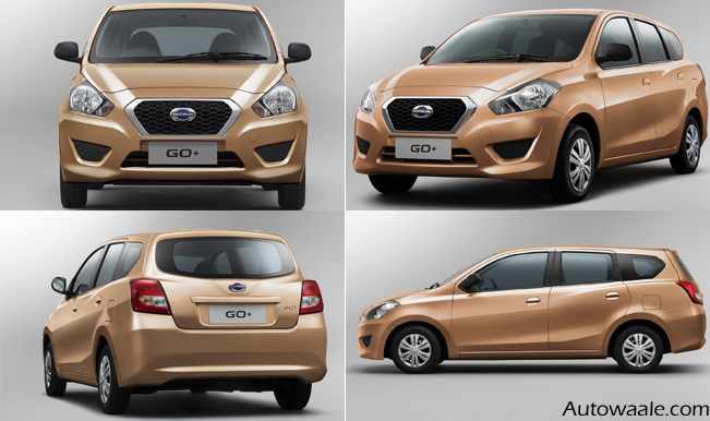 datsun go plus interior hd photos full video review. Black Bedroom Furniture Sets. Home Design Ideas