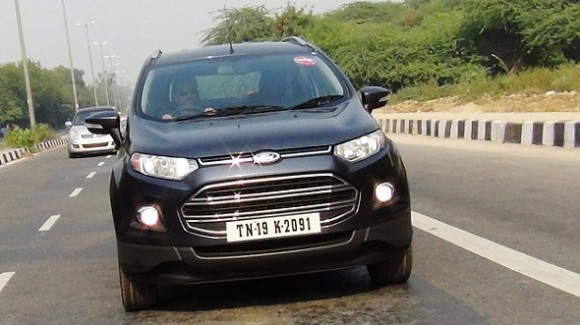 Ford Ecosport test drive mileage