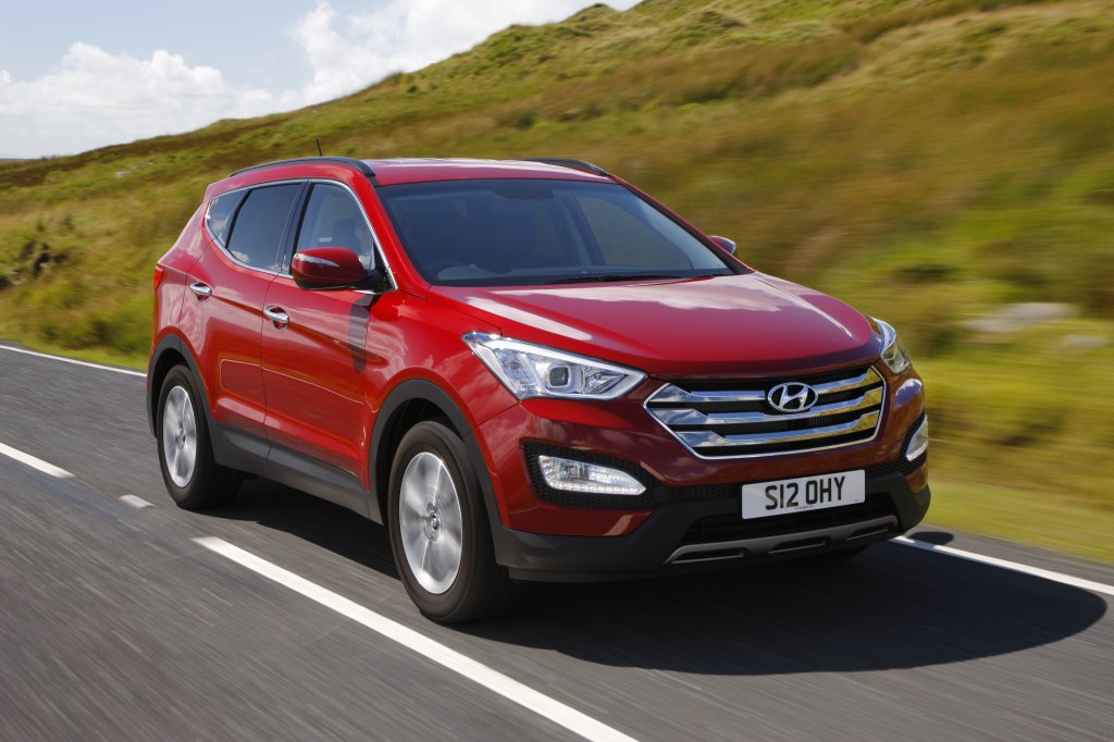 Hyundai Santa fe Diesel Model Review in Detail