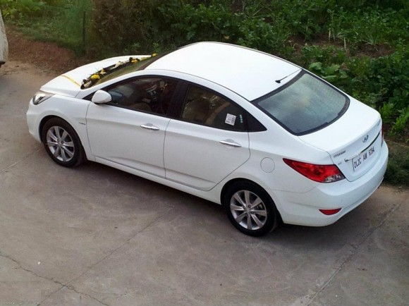 Hyundai Verna Fluidic in White color1