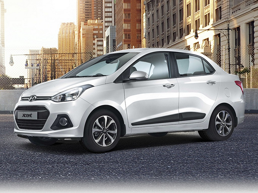 Hyundai xcent features engine specification mileage for Hyundai xcent exterior