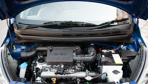 Hyundai Xcent engine