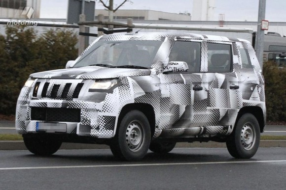 Mahindra Bolero 2015 Pics And Details SPIED