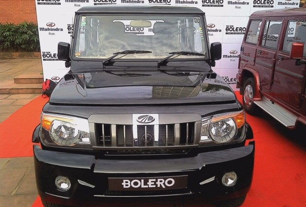 Mahindra Bolero in show room