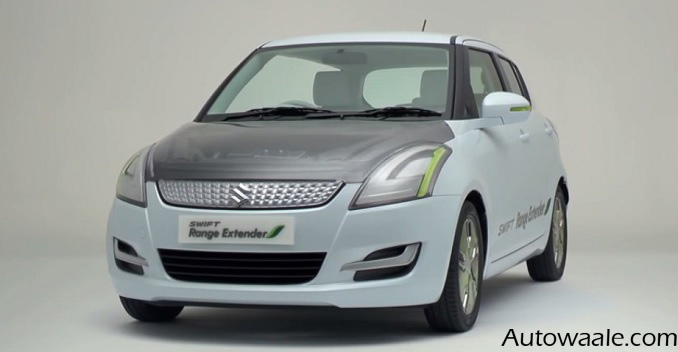 Maruti Swift Range Extender 48.2 km/l Revealed at GMX 2015 Delhi – Details