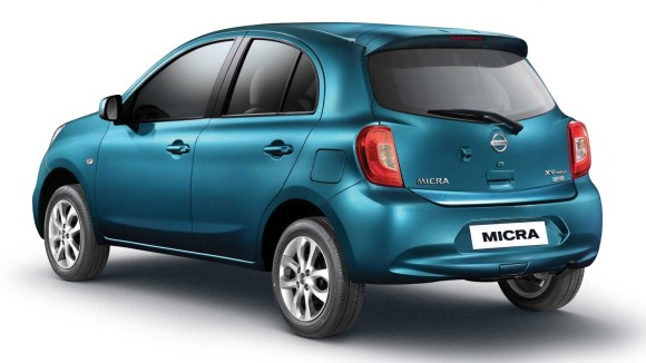 Nissan Micra back pic