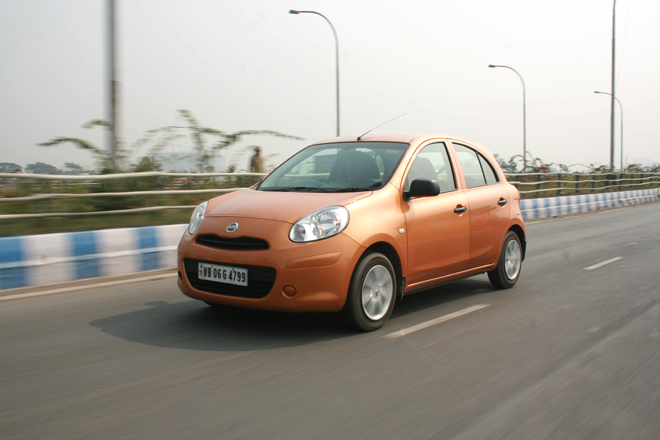 Nissan Micra Features, Engine Specification, Mileage, Test Drive Reviews and Look Pictures