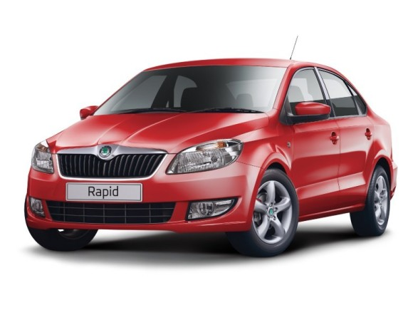 Skoda Rapid Red colour