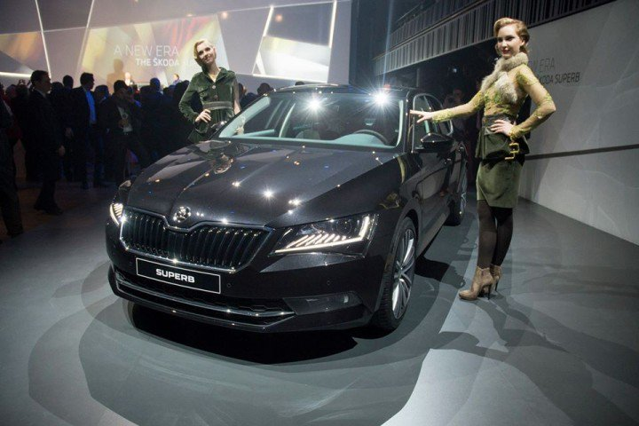 Skoda 2016 Superb Rendered Ahead of its Official Unveiling