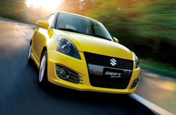 Swift in Beautifu Yellow Color