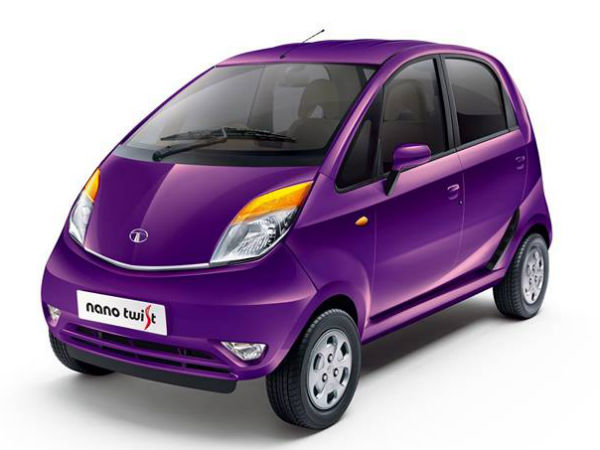 Tata Nano Twist XE Price Revealed In India
