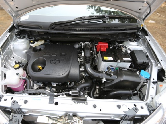 Toyota Etios Cross  HD Picture of Engine