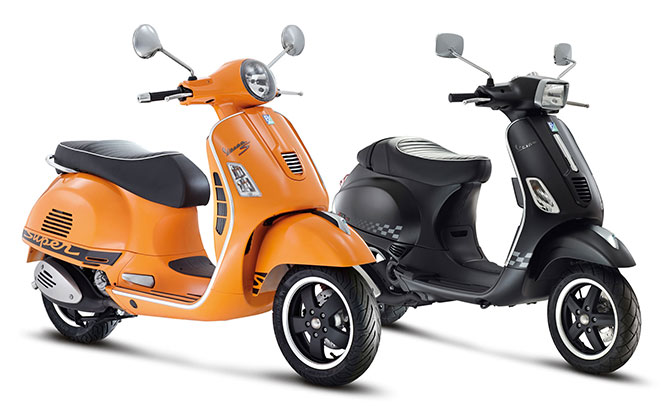 Vespa's New Models at IBW 2015 – Details