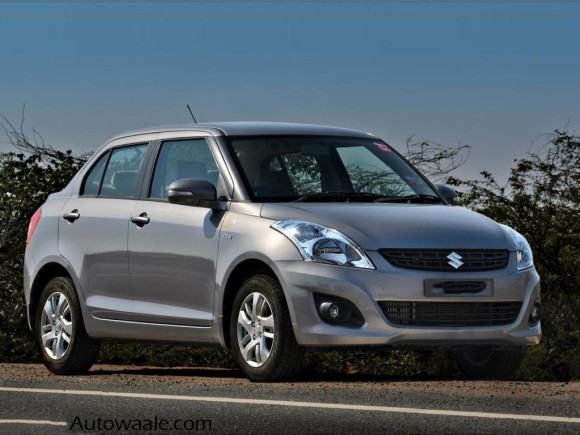 Swift Dzire in test drive preview
