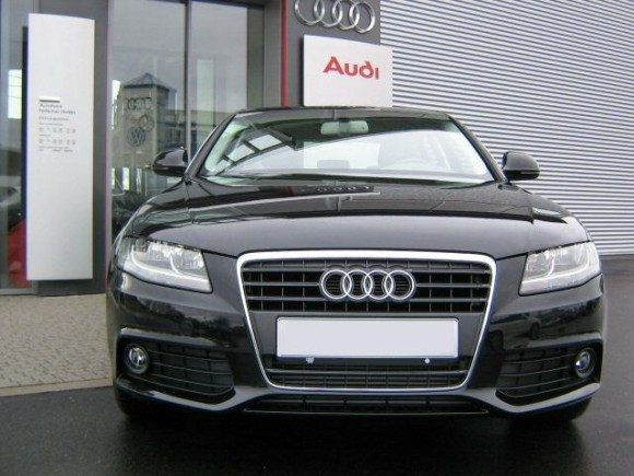 Audi A4 front pic