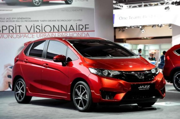Honda Jazz Red Color