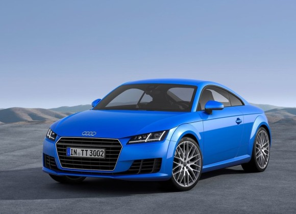 New Audi TT India Blue color