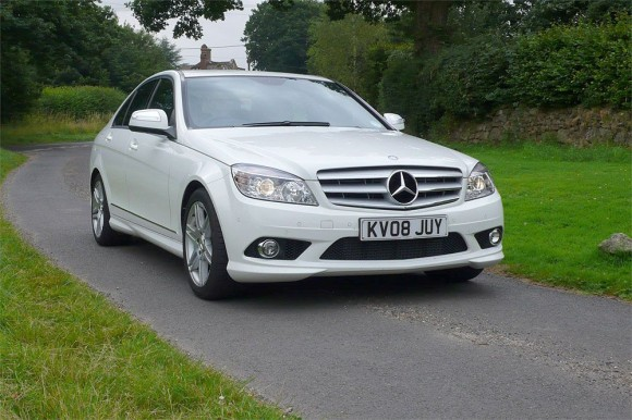 Mercedes C220 CDI Model On Road