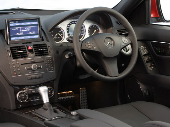 Mercedes C220 CDI Model inner Dashboard