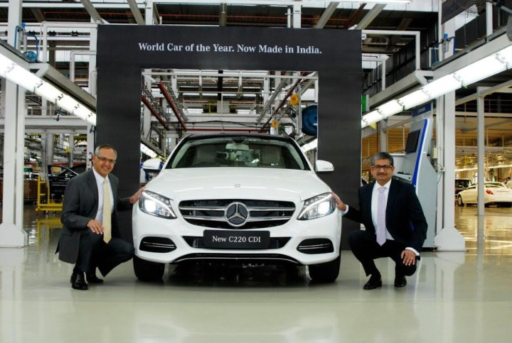 Mercedes C Class 2015 Diesel Price In India Now INR 37.9 Lacs