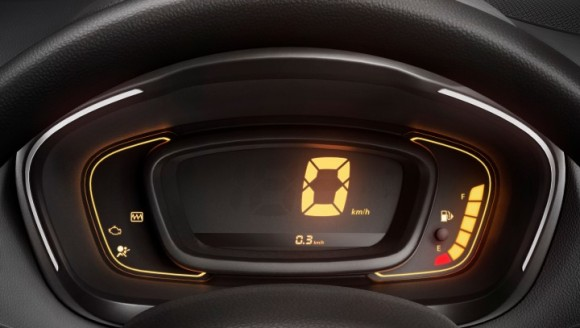 Renault Kwid Display