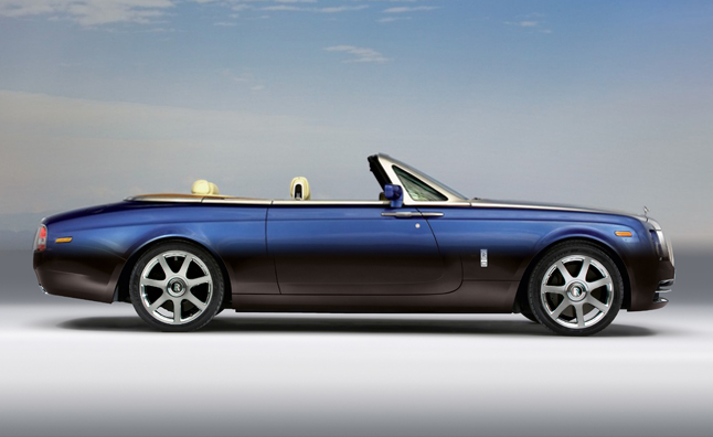 Rolls-Royce Dawn Convertible – In India Next Year