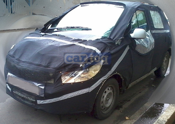 Tata kite Side Front spied