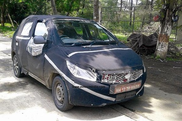Tata kite spied pics on Raod