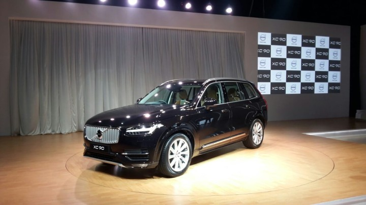 Latest Volvo XC90 SUV launched – Price Rs 64.9 lakh