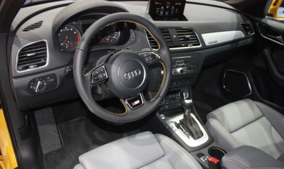 Audi Q3 Facelifted Dashboard