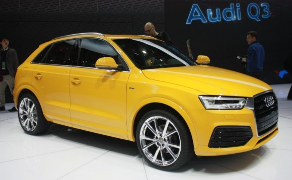 Audi Q3 Facelifted Side Full View