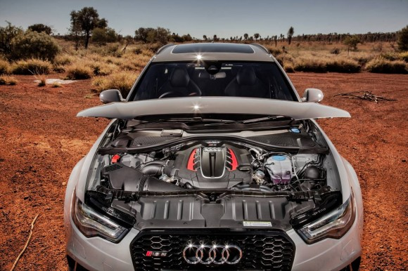 Audi RS6 Avant Engine Techncial Specifications