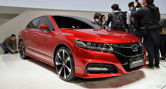 Honda Accord 2016 model show Room