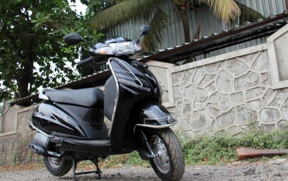 Honda Activa 3g Front side look