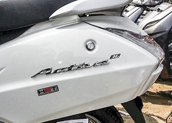 Honda Activa 3g Side Back