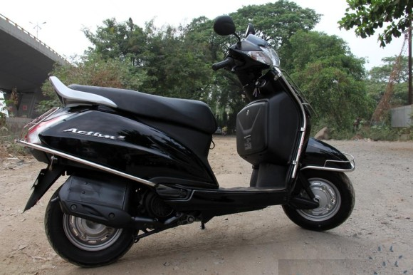 Honda Activa 3g full Side Pic