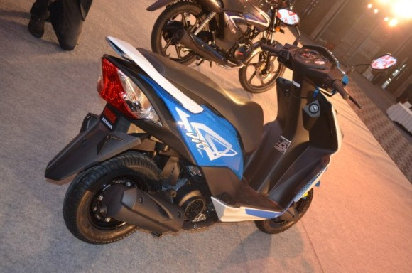 Honda Dio Full Back Look