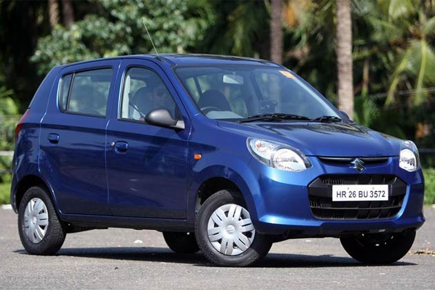 Top 5 Most Fuel Efficient Petrol Cars In India [2015]