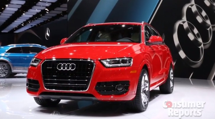New Audi Q3 (Facelift) 2015 Model HD Images, Photo, Pics
