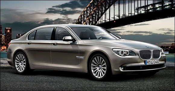 New BMW 7 Series Side Profile