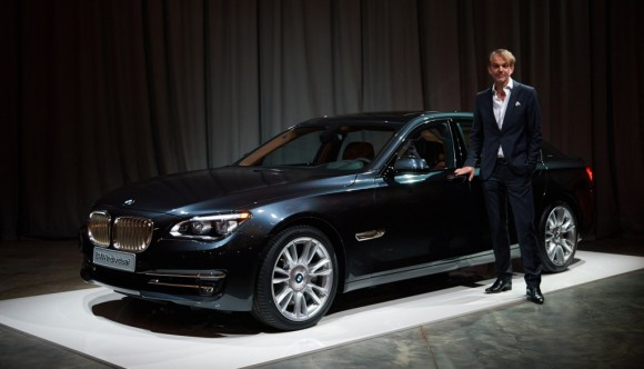 New BMW 7 Series in Show