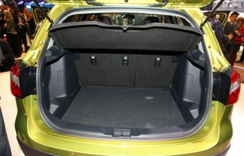 New Maruti Suzuki S-Cross luggage area