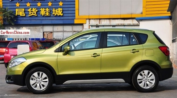 New Maruti Suzuki S-Cross side