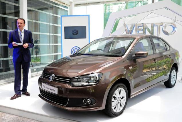 New Volkswagen Vento Facelift 2015 Photo Gallery