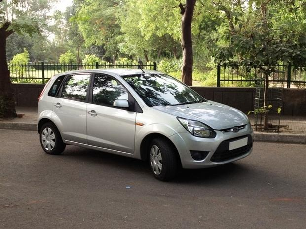 Ford Figo on Road